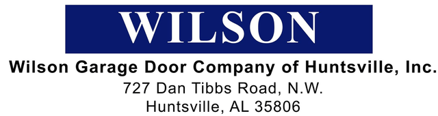 Beau Wilson Garage Door Company Of Huntsville