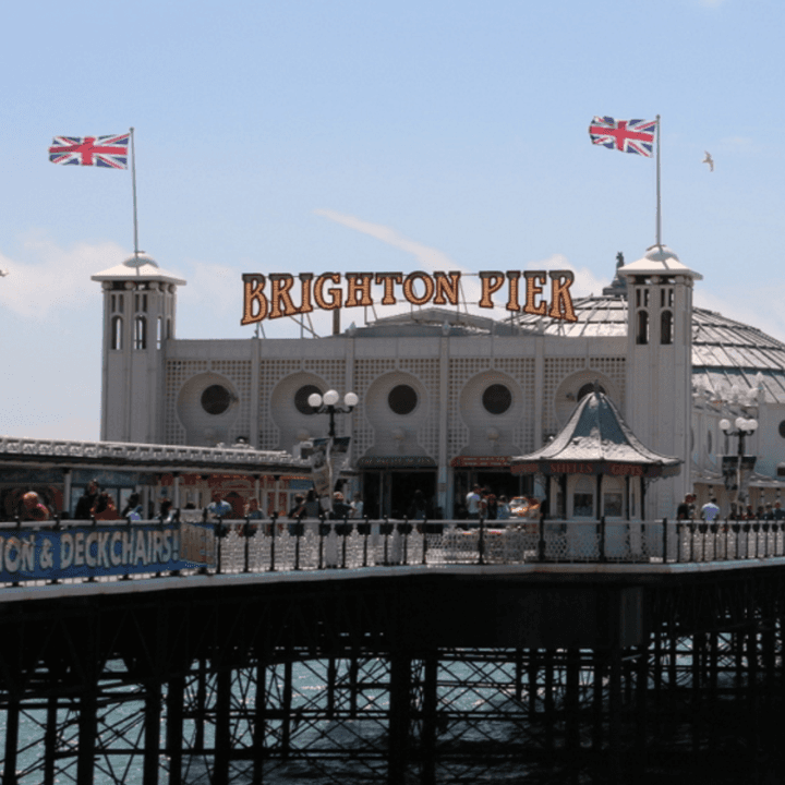 Brighton Pier scaffolding from Street Scaffolding Services