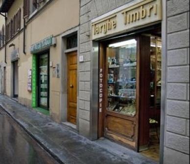 targhe, timbri, coppe e trofei, Firenze