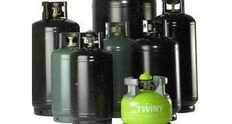 varietà di bombole a gas