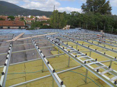Struttura dei pannelli solari