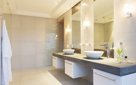 elegant bathroom suites