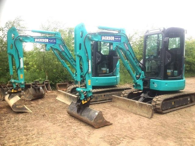 Kobelco 3 ton 360 Excavator