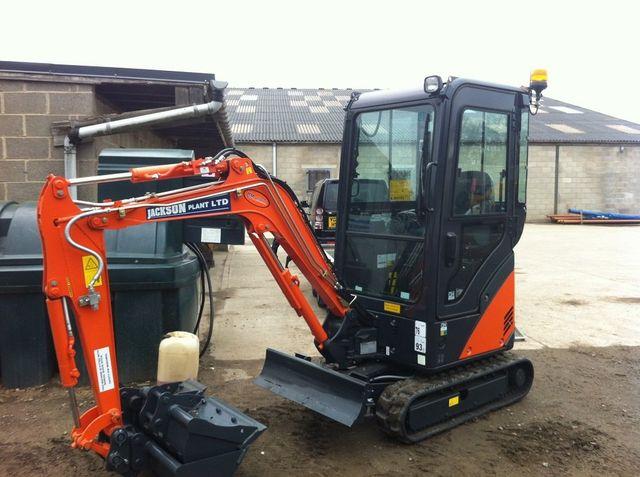 Hitachi 360 1.8 ton Excavator