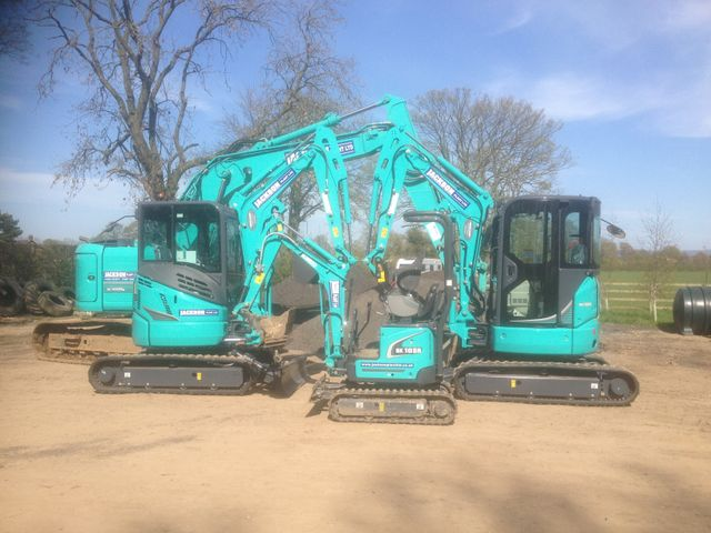 360 Excavators Available for Hire