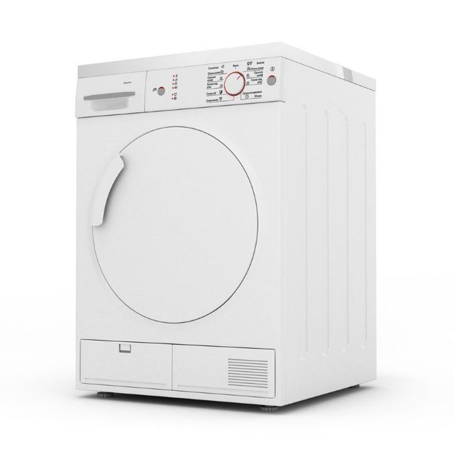 asciugatrice bianca