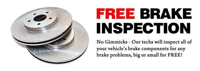 Free Brake Inspection Near Me >> Brakes