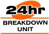 24 hour breakdown unit