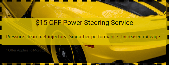 Power Steering Coupon