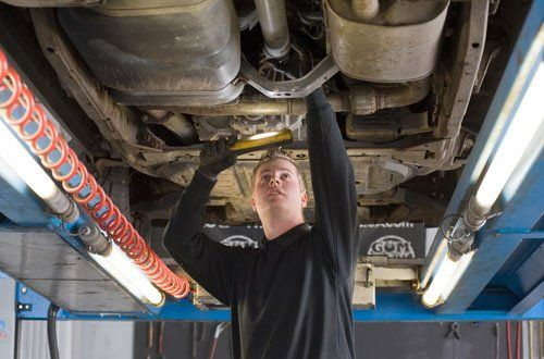Vehicle Fluids from Extra Mile Auto Service of Coatesville, changing oil in this age of new cars.