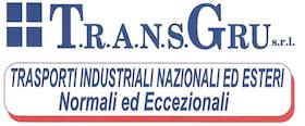 T.R.A.N.S. GRU - NOLEGGIO AUTOGRU E PIATTAFORME AEREE - LOGO