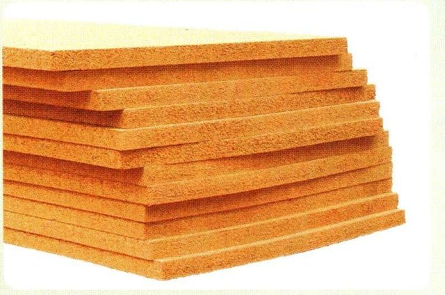 Composition cork sheet and expansion joint