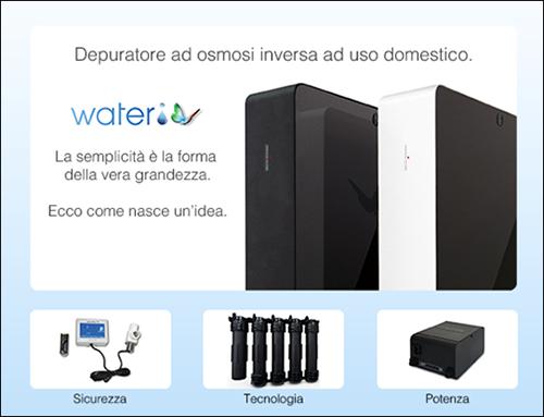 depuratore ad osmosi inversa ad uso domestico