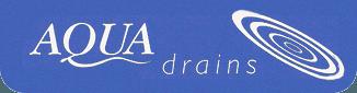 Aqua Drains logo