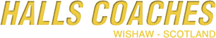 Halls Coaches logo