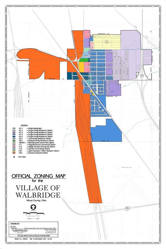 Village of Walbridge, Ohio Zoning