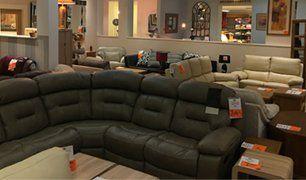 black L sofa