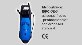 idropulitrici ad acqua fredda, idropulitrici prodotte in Italia, idropulitrici a norma