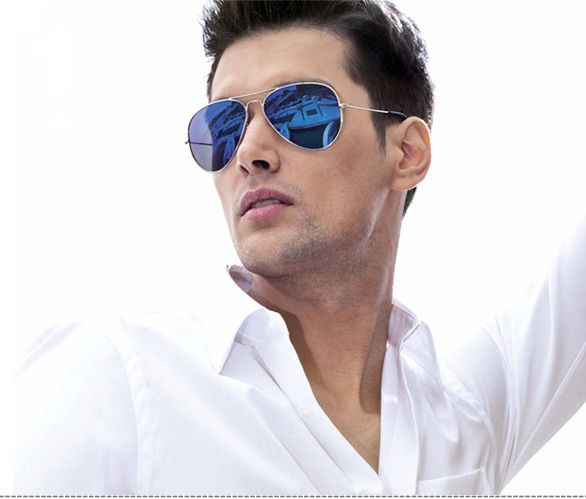 ... men sunglasses ray ban blue ...