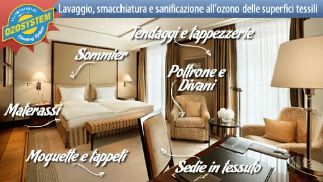 Pulizia a domicilio di moquette, tappeti, divani, materassi