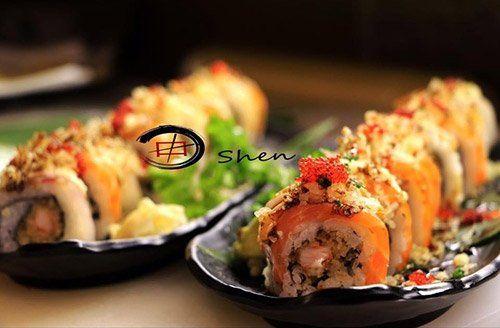 piatti di sushi ristorante giapponese a Treviso