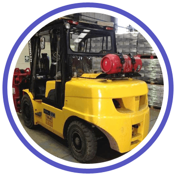 Forklift truck covers