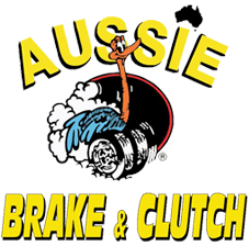 aussie brake and clutch business logo