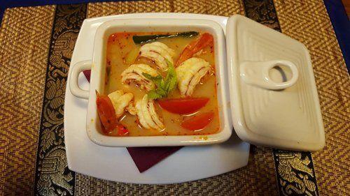 Zuppa thailandese a Verona