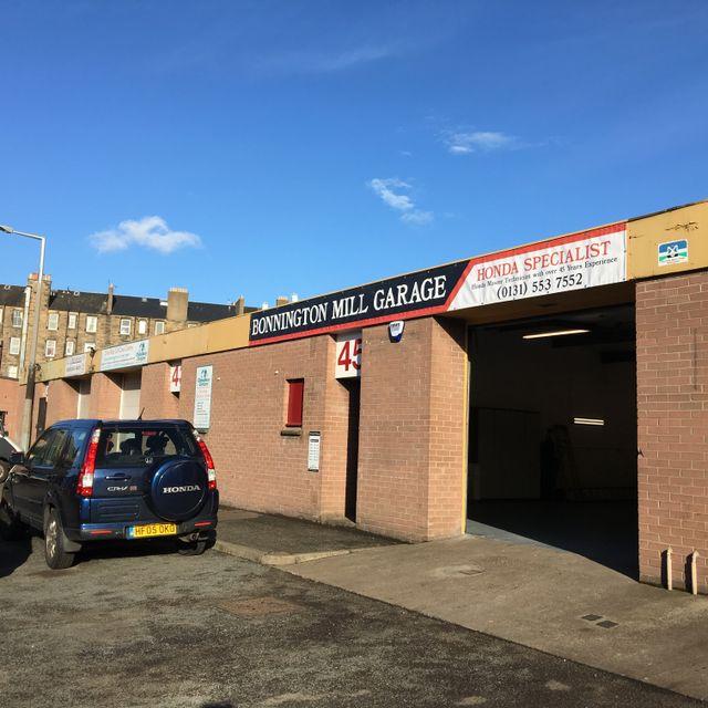 Bonnington Mill Garage Honda Specialist Edinburgh