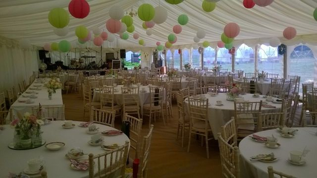 Marquee at Westlands Farm