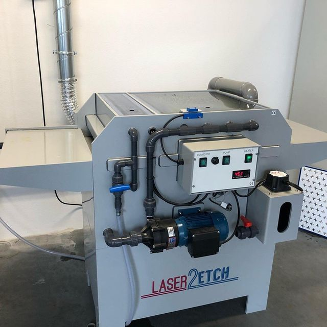 Chemical Etching in the Benelux - Laser2etch partner with