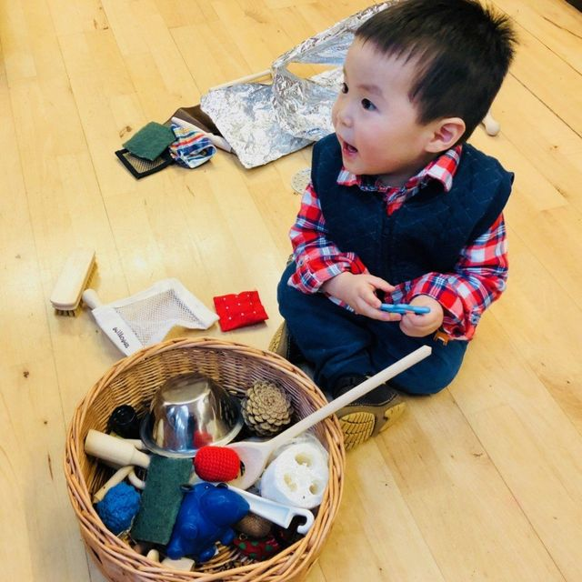 0c8f6e6df60c Babies and toddlers learn mainly through play and an important part of this  learning