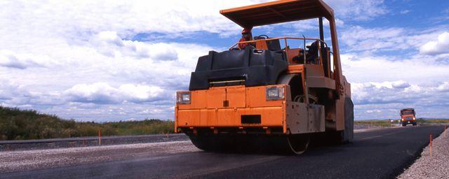 An asphalt machine in Wellington