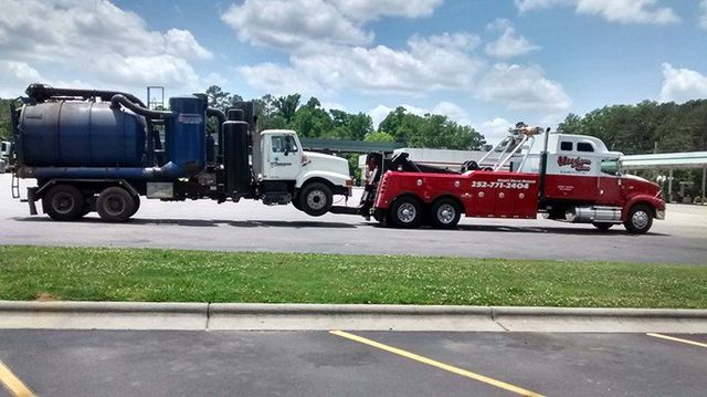 Emergency Towing Service - Elizabeth City, NC - Hudson & Son Garage