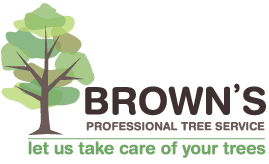 Browns Professional Tree Services logo