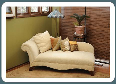 sofa after repair