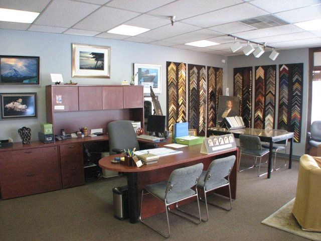 Office for picture framing in Anchorage, AK