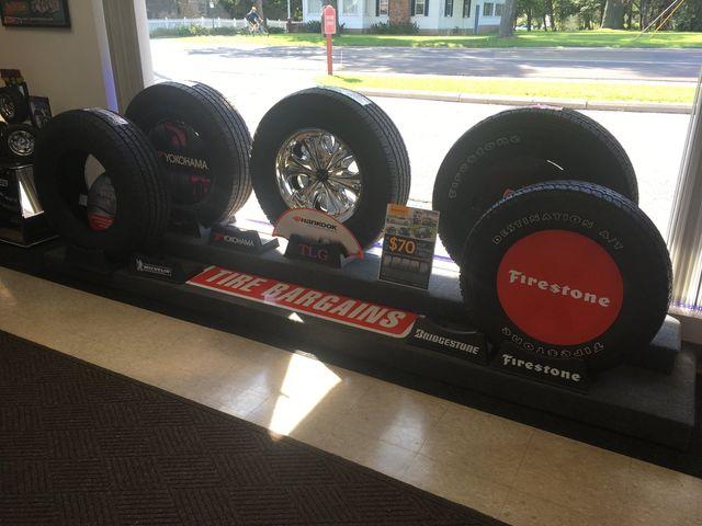 Auto tires parts  in  Honeoye Falls, NY