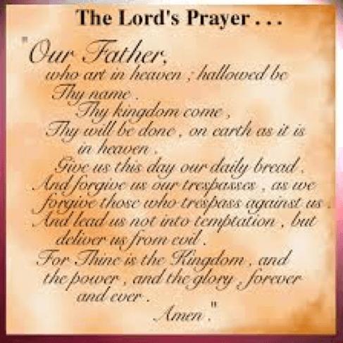 Download PDF The Disciples Prayer