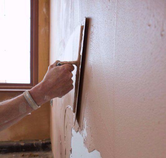 wall plastering