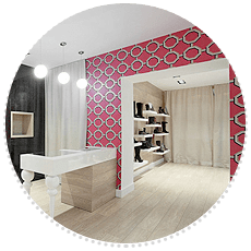 commercial decoration work