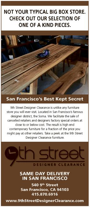 San Francisco 9th Street Designer Wide