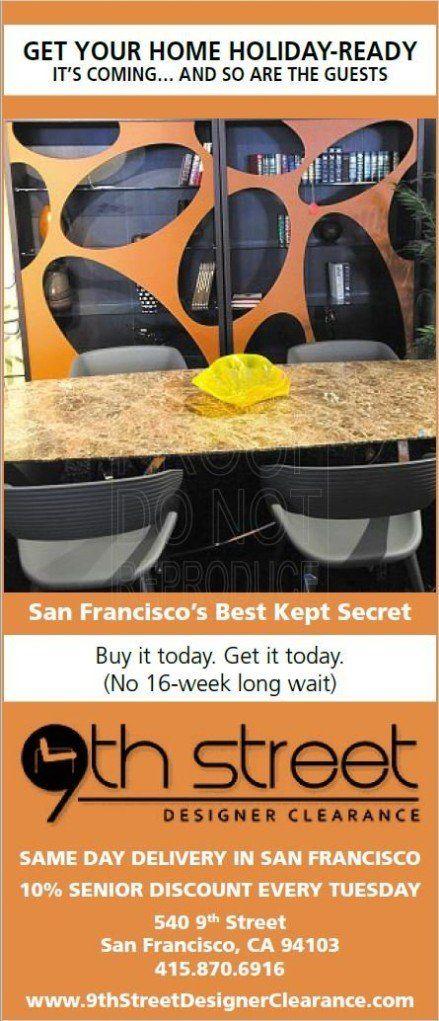 San Francisco 9th Street Designer Best Kept Secret Sale