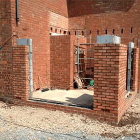 new building being constructed