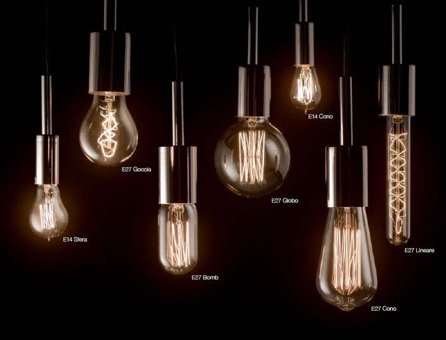 lampadine in vari formati e tipologie