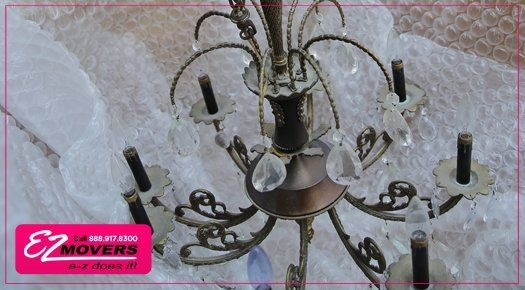 Florida Chandelier Packing and Moving Services