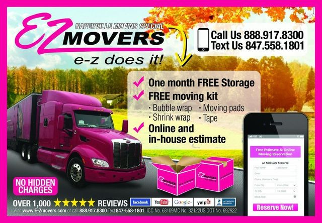 Naperville Moving Service