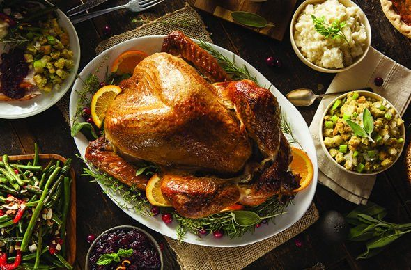 Turkey Dinner and Sides