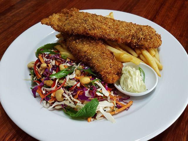 Chop 'n Chill - Lemon Pepper Crumbed Fish