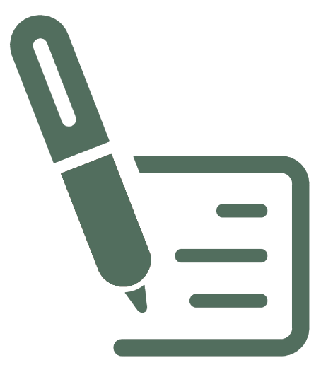 Pen and paper icon